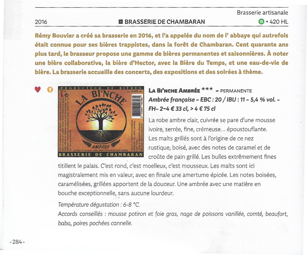 ARTICLE GUIDE HACHETTE BIERE